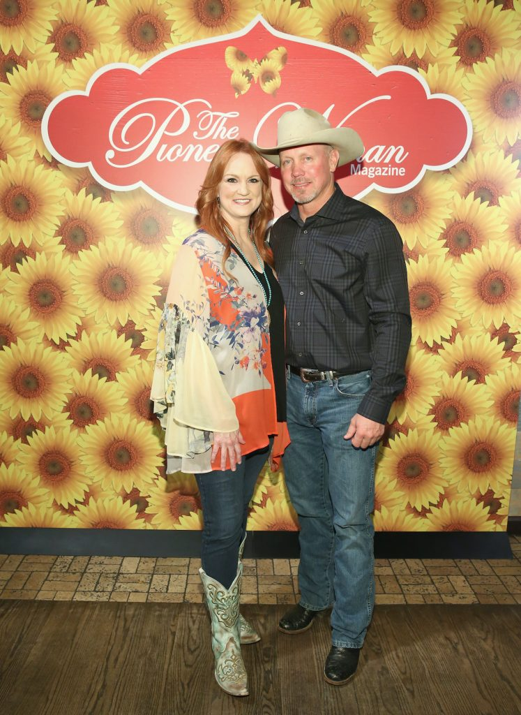Ree Drummond with her husband, Ladd Drummond, in New York City in 2017