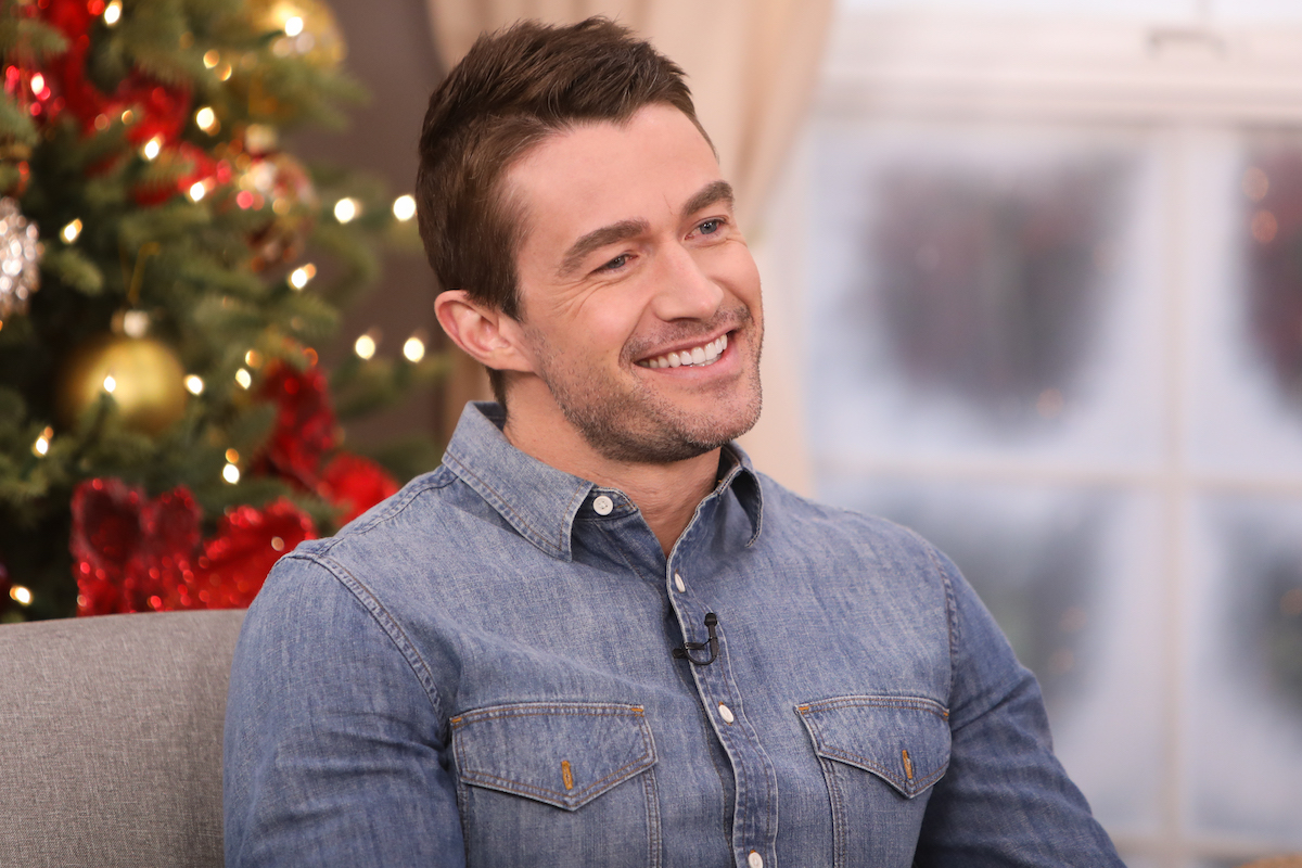 Robert Buckley during an appearance on Hallamark's Home and Family
