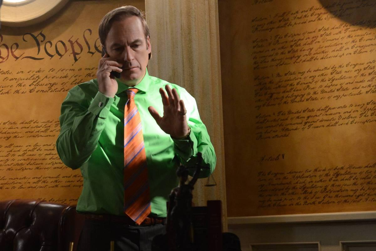 Saul Goodman appears in an episode of 'Breaking Bad'
