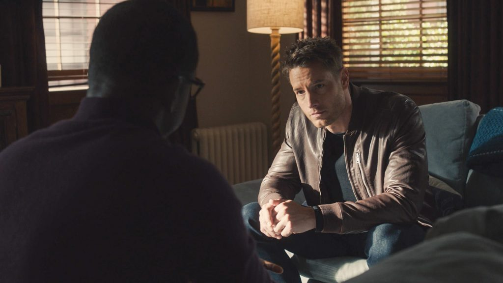 Sterling K. Brown and Justin Hartley on the next episode of This Is Us
