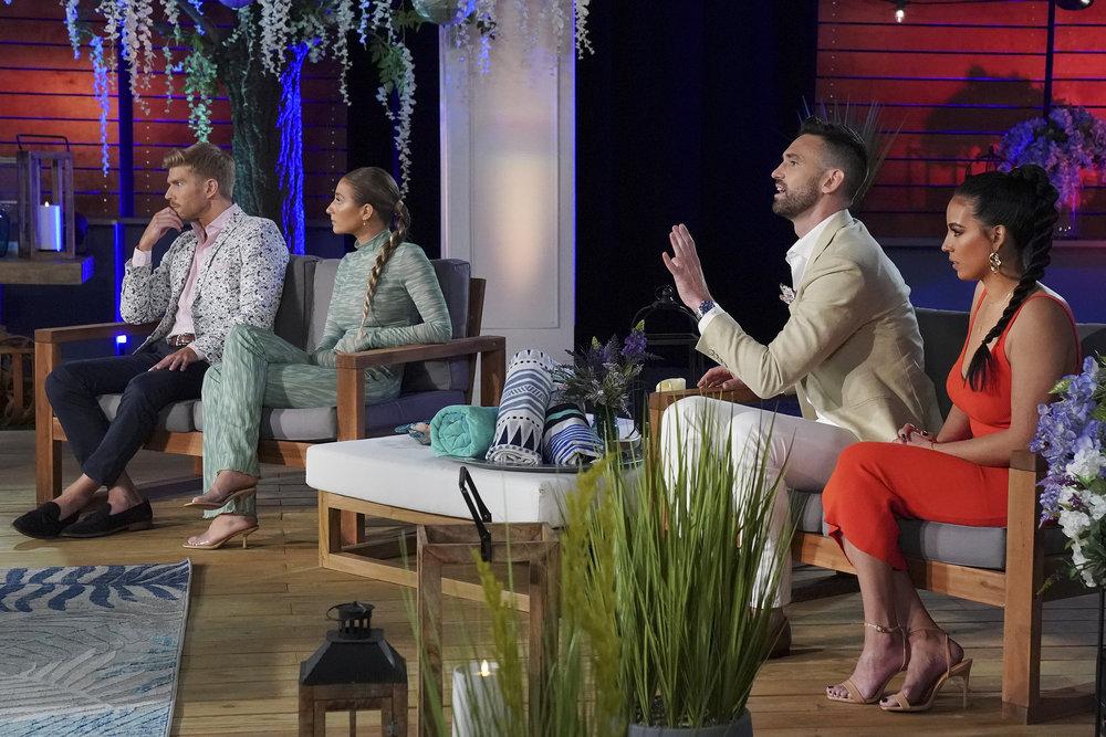 Kyle Cooke, Amanda Batula, Carl Radke, Danielle Olivera during the Summer House Season 5 reunion
