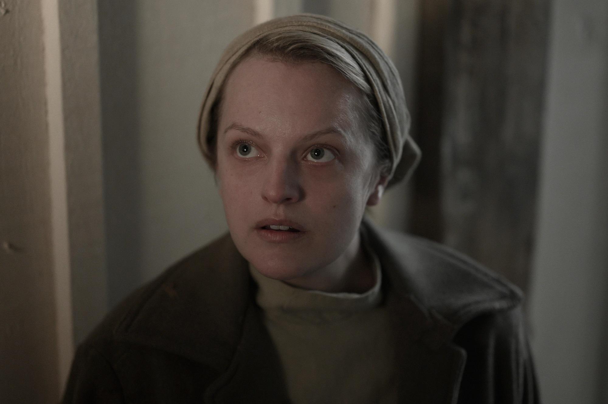 Elisabeth Moss in season 4 episode 2 of 'The Handmaid's Tale'