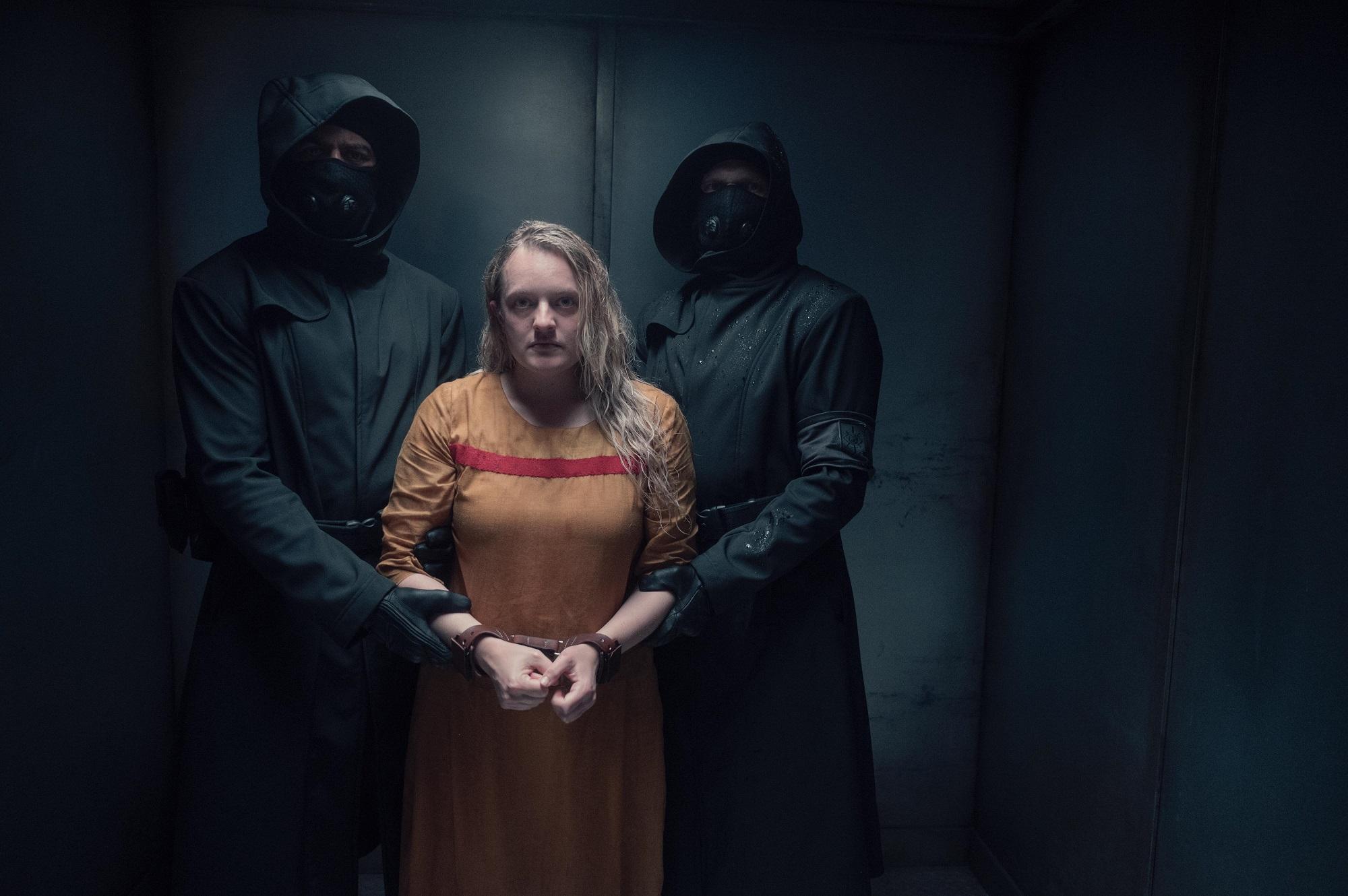 Elisabeth Moss in new season 4 episode 3 of 'The Handmaid's Tale'