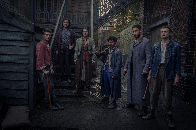 'The Irregulars' Cast