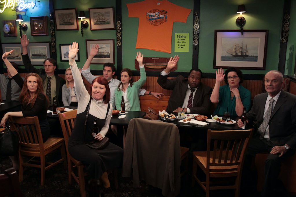 'The Office' cast, some of whom have recently had a small reunion