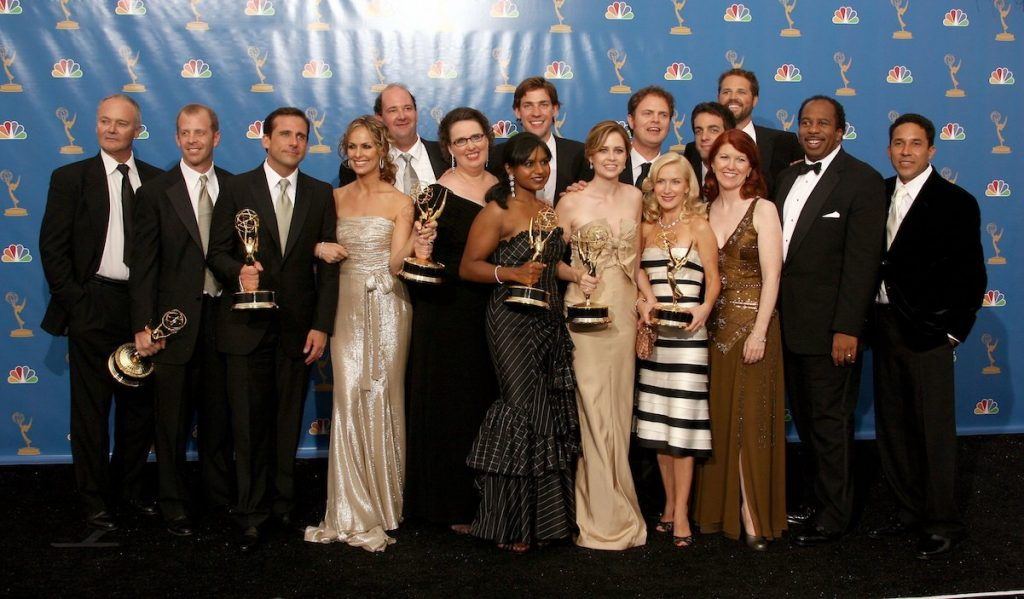 'The Office' cast at the Emmy Awards in 2006