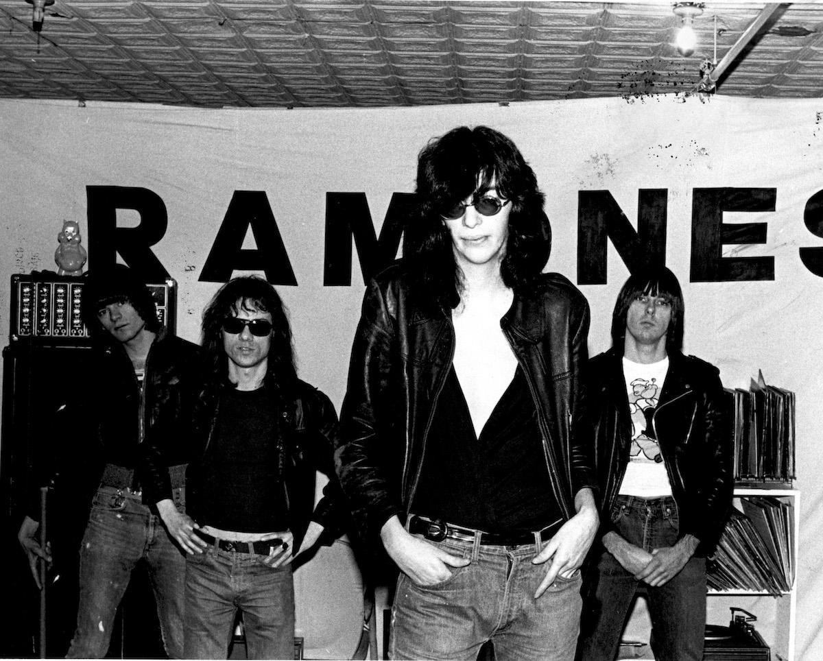 Dee Dee Ramone, Tommy Ramone, Joey Ramone, Johnny Ramone