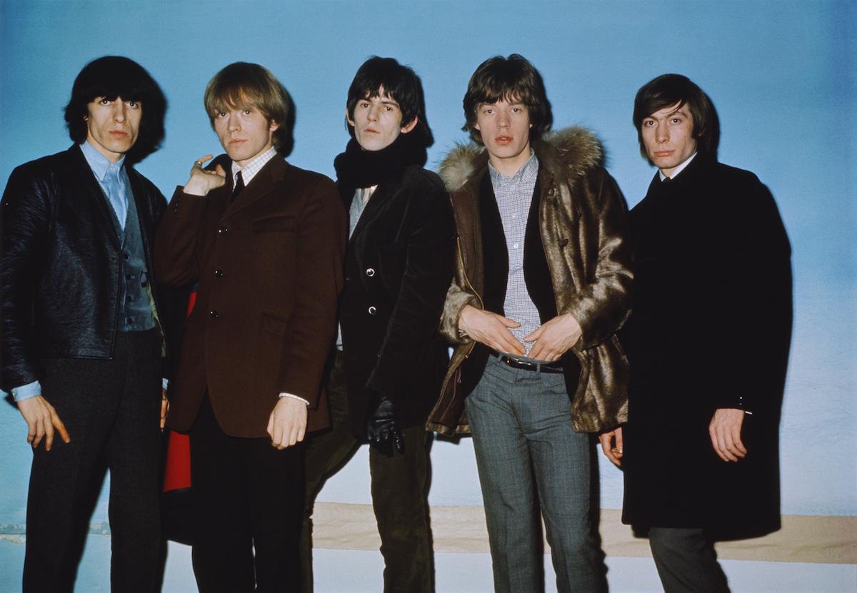 The Rolling Stones - Bill Wayman, Brian Jones, Keith Richards, Mick Jagger và Charlie Watts - vào năm 1964