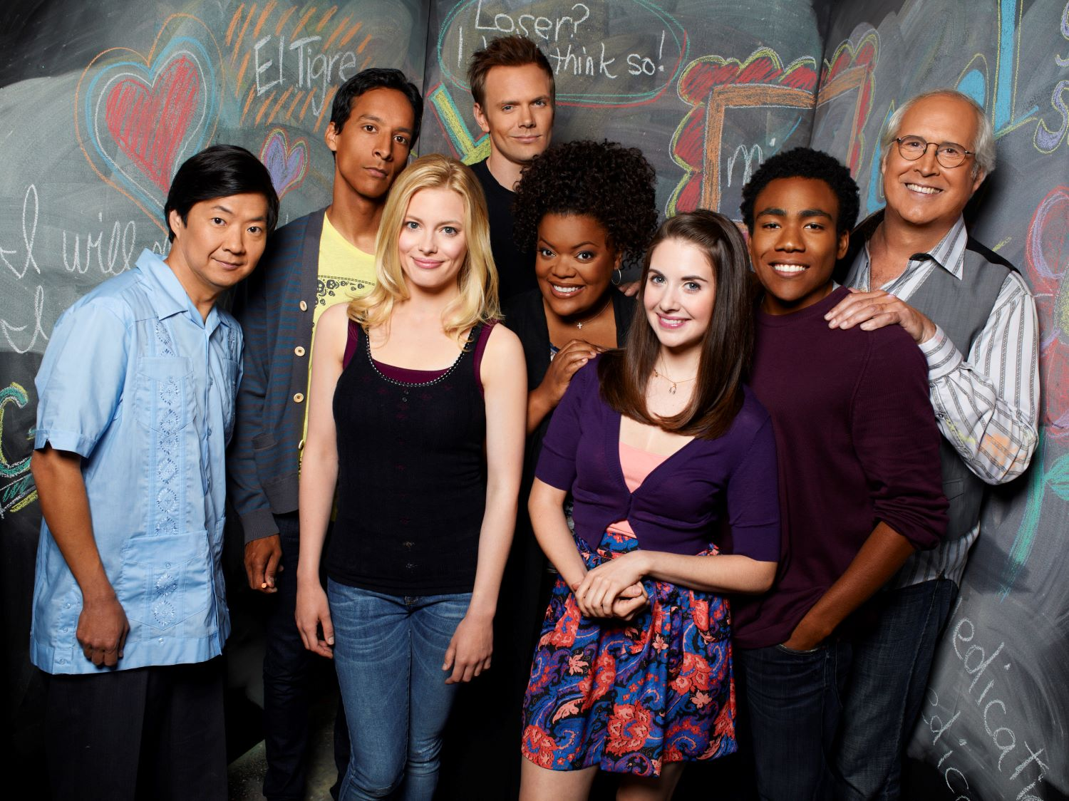 The cast of 'Community'