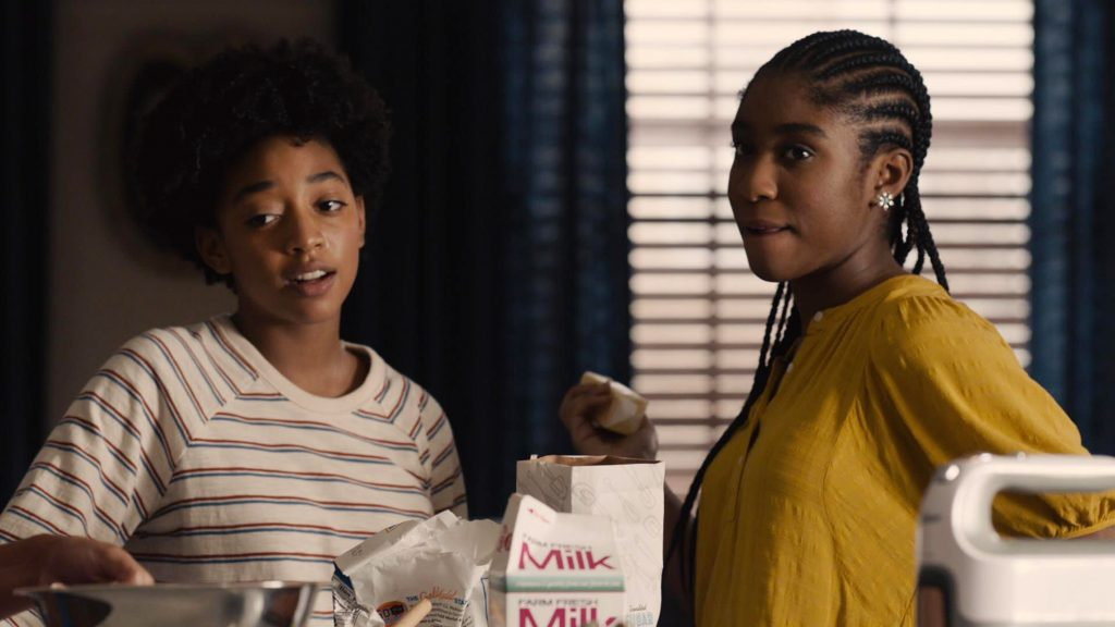 This Is Us Eris Baker and Lyric Ross