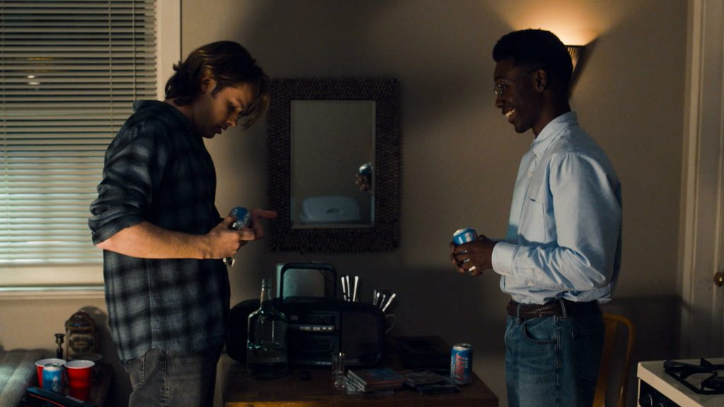 On This Is Us tonight Logan Shroyer plays young Kevin and Niles Fitch plays young Randall