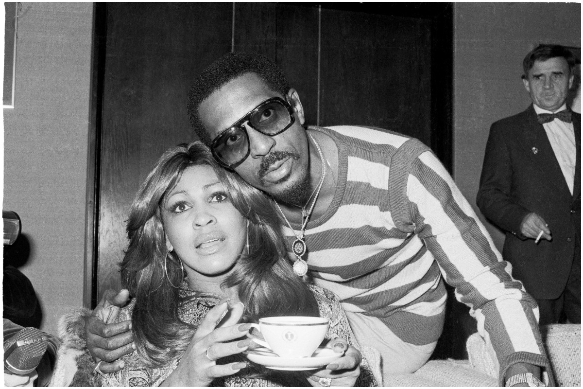 Tina Turner and Ike Turner at an event.