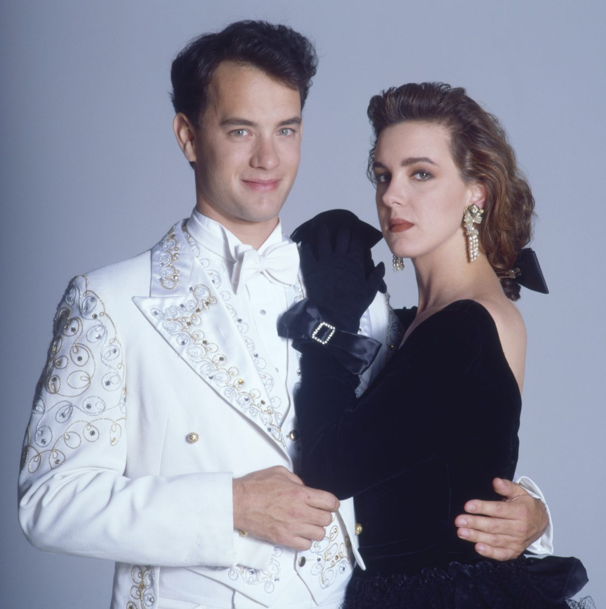 Tom Hanks and Elizabeth Perkins in Big