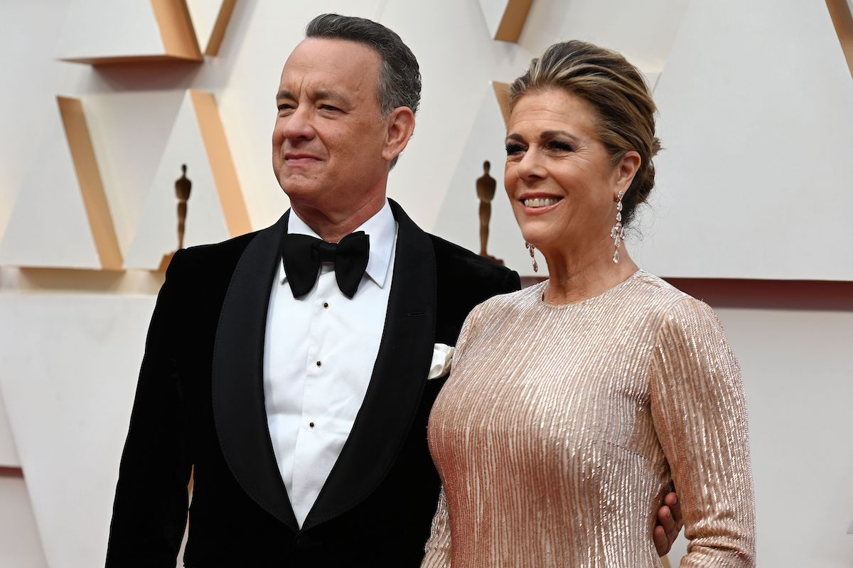 Tom Hanks and Rita Wilson arrive at the 92nd Oscars in 2020