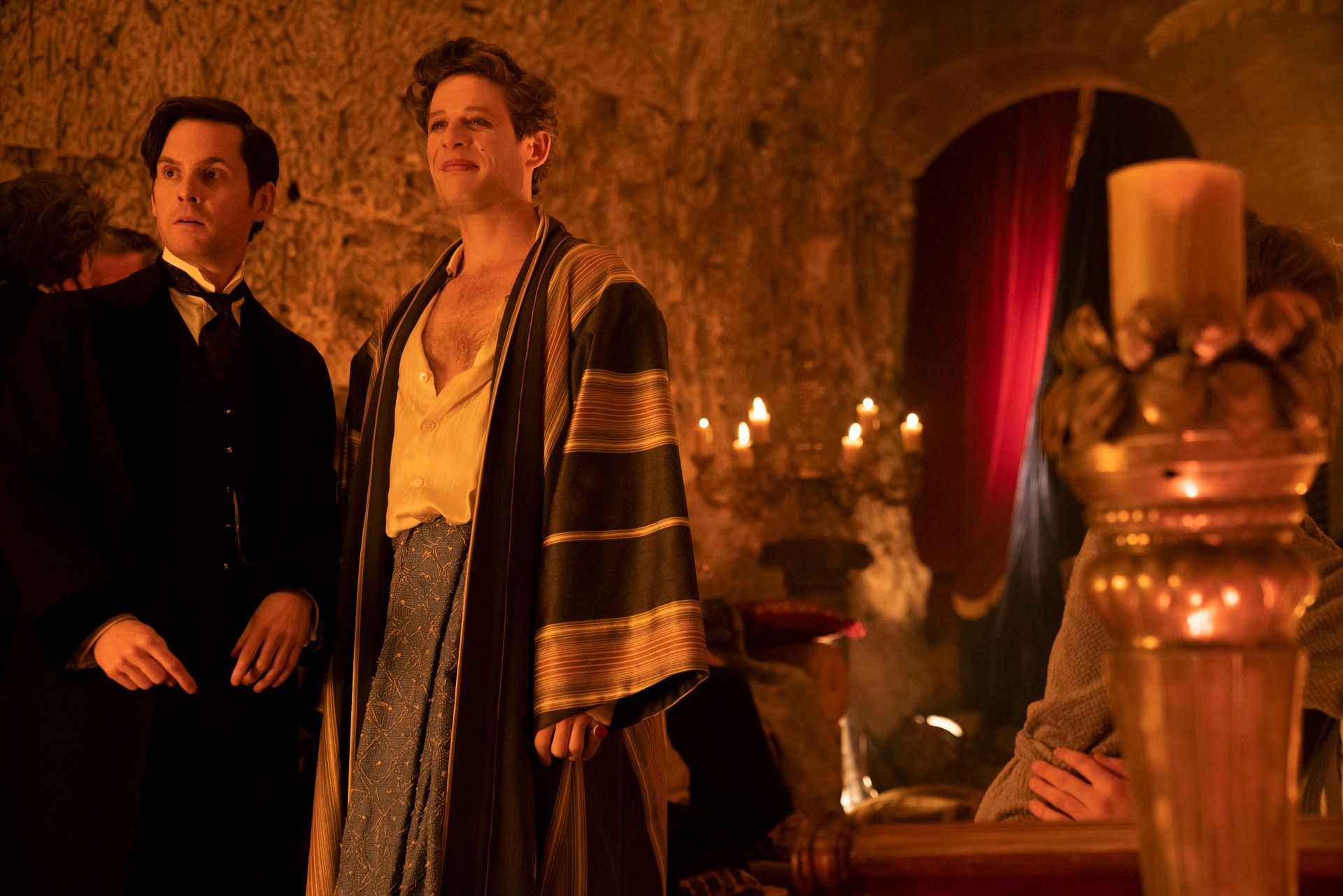 Tom Riley and James Norton in 'The Nevers'