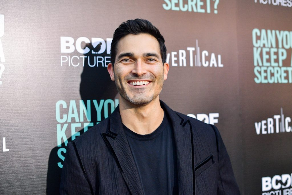 "Tyler Hoechlin attends the premiere of Vertical Entertainment's ""Can You Keep A Secret?"" at ArcLight Hollywood on August 28, 2019 in Hollywood, California."