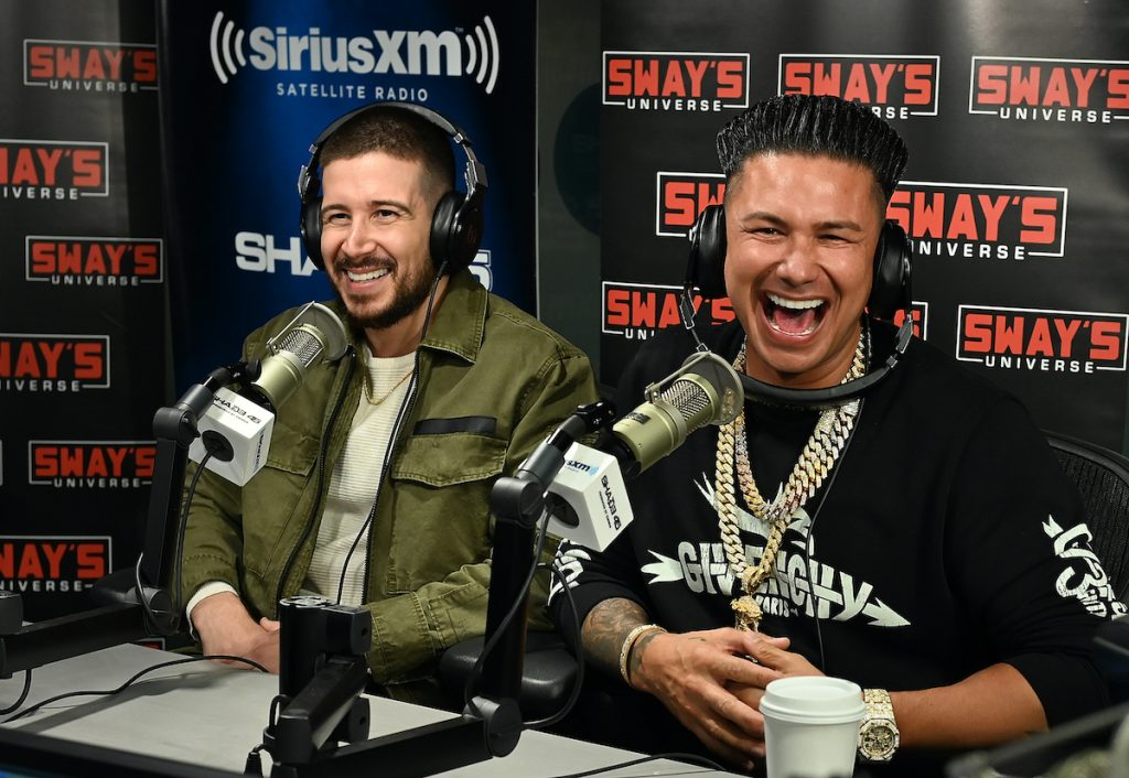 Vinny Guadagnino and DJ Pauly D, the stars of 'Double Shot at Love'