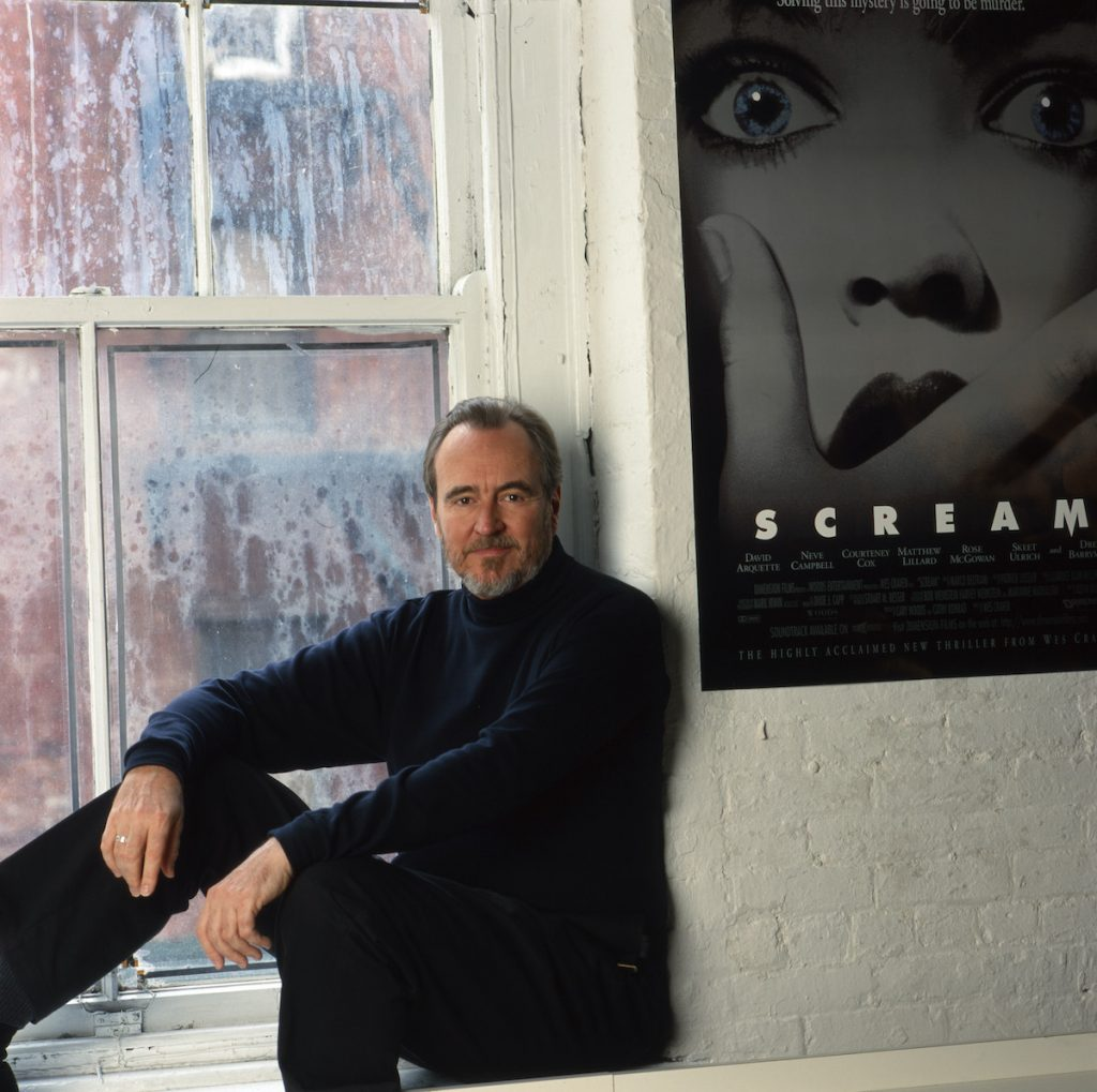 Wes Craven, the director who hid several Easter eggs in 'Scream'