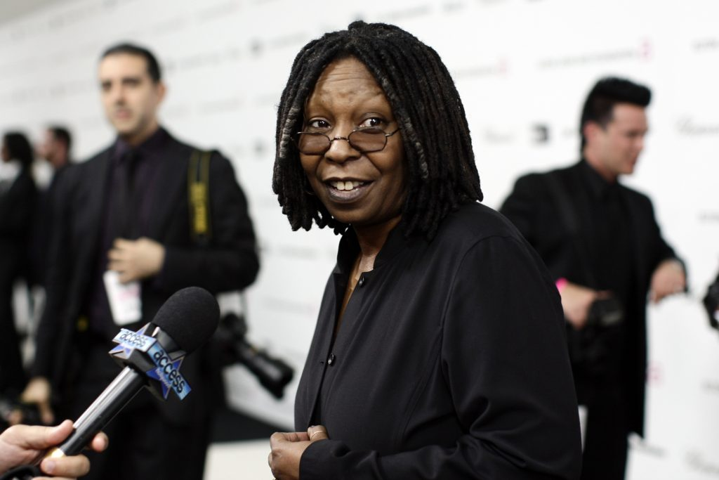 Whoopi Goldberg arrives to the 17th Annual Elton John Aids Foundation Party to celebrate the Academy Awards at the Pacific Design Center in West Hollywood, CA