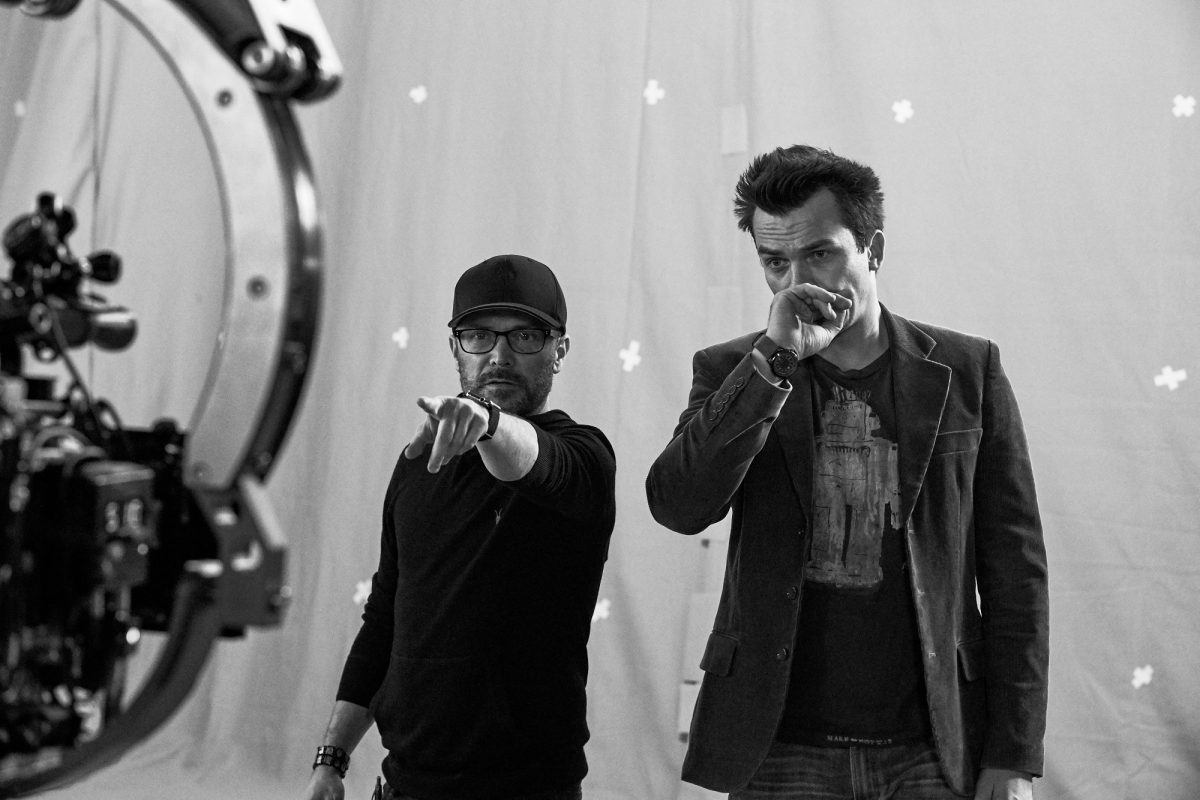 Separation director William Brent Bell points for Rupert Friend
