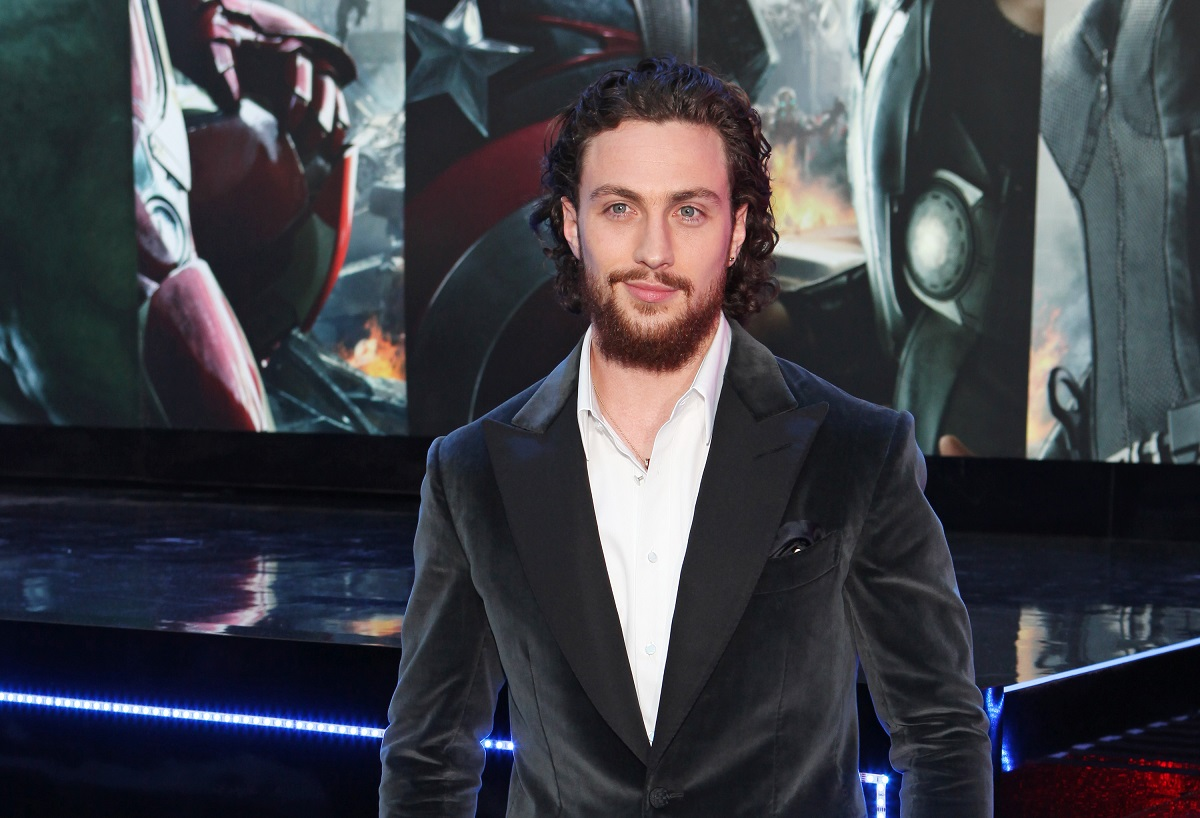 Aaron Taylor-Johnson attends the European premiere of 'Avengers: Age Of Ultron' on April 21, 2015, in London, England.