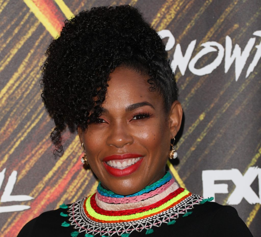 Angela Lewis attends the premiere of FX's 'Snowfall' season 3