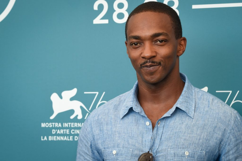 Anthony Mackie at the 76th Venice International Film Festival, 2019