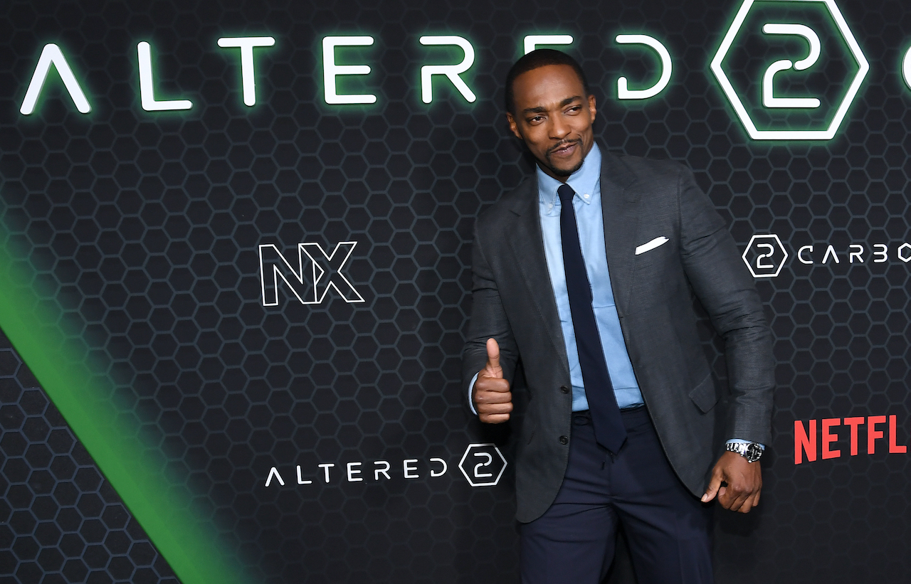 "Anthony Mackie attends  Netflix's ""Altered Carbon"" Season 2 Photo Call at AMC Lincoln Square Theater"