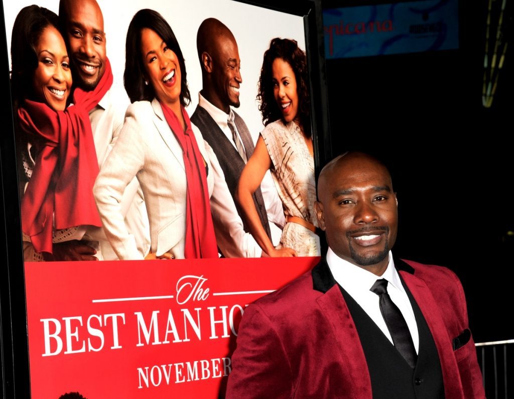 Morris Chestnut at the premiere of 'The Best Man Holiday'