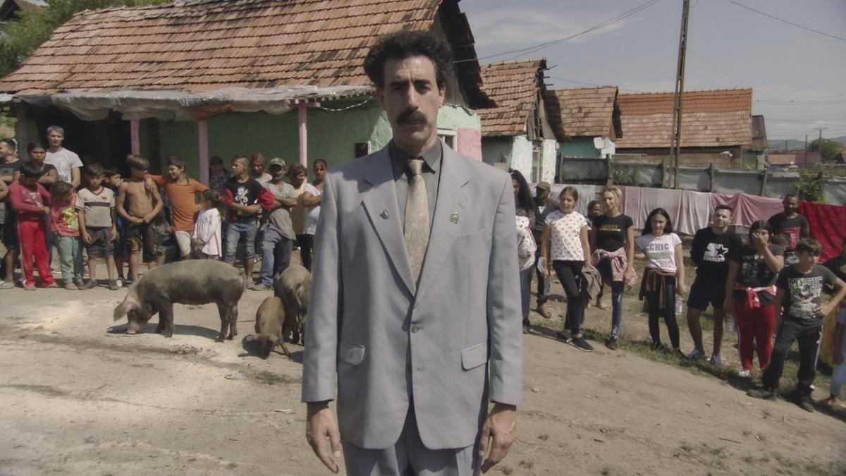 Sacha Baron Cohen in 'Borat Subsequent Moviefilm'