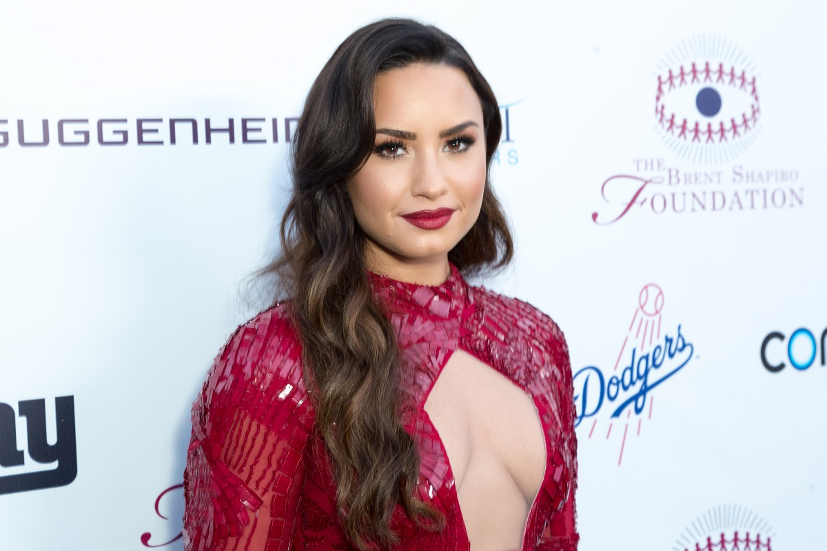 Demi Lovato arrives for the Annual Brent Shapiro Foundation For Alcohol And Drug Prevention Summer Spectacular on September 9, 2017, in Beverly Hills, California.
