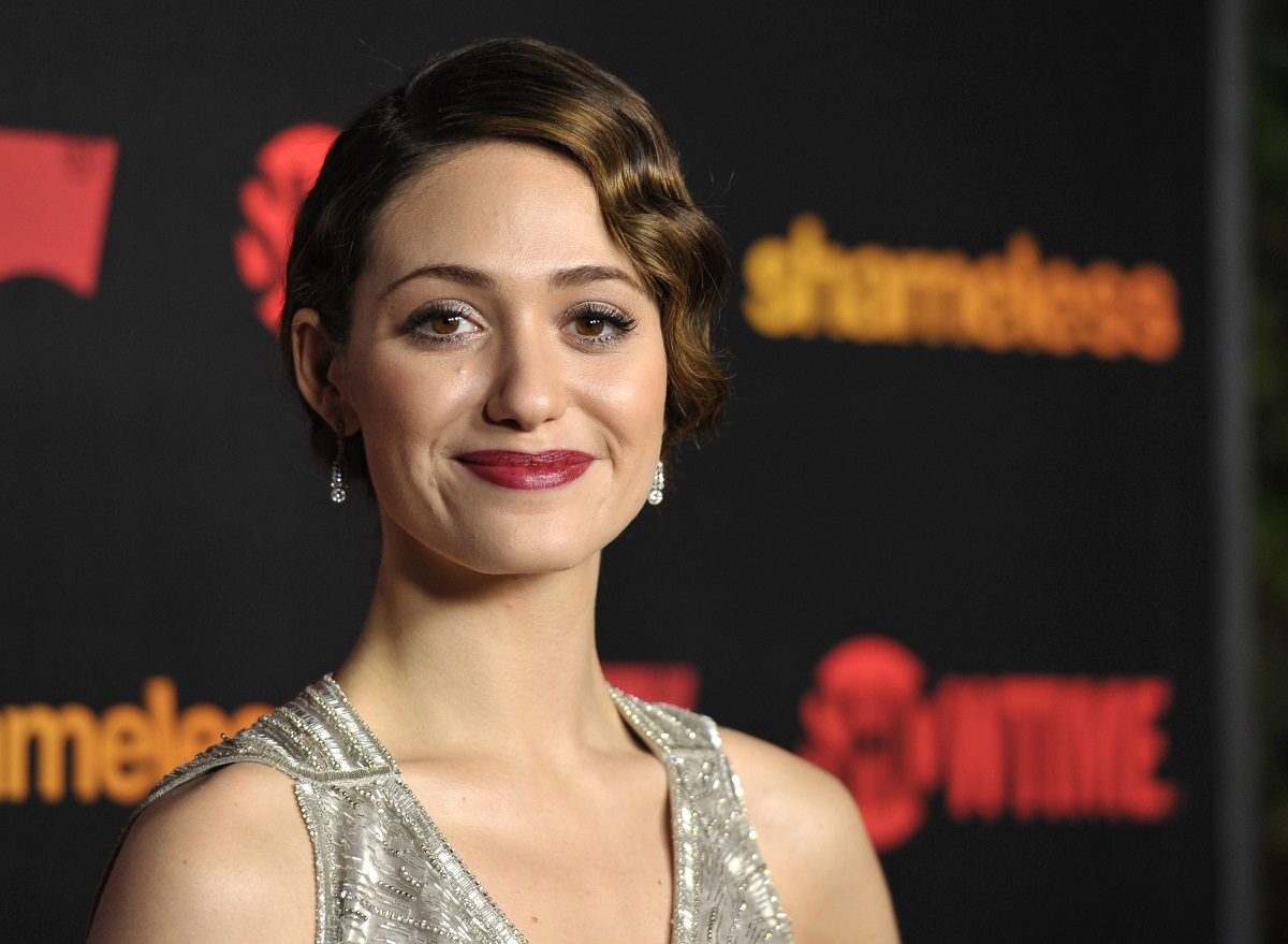 Emmy Rossum attends the 'Shameless' Season 2 Reception on January 5, 2012, in Los Angeles, California.