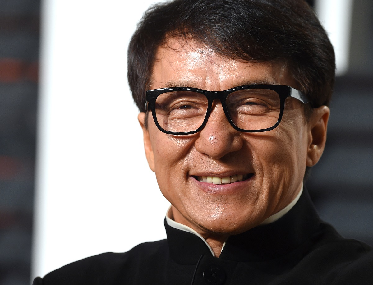Jackie Chan attends the 2017 Vanity Fair Oscar Party on February 26, 2017, in Beverly Hills, California.