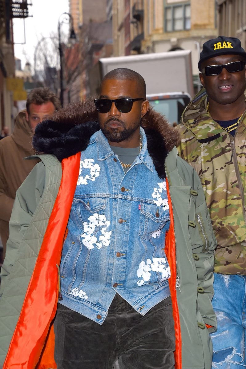 Kanye West seen out and about in Manhattan on February 5, 2020