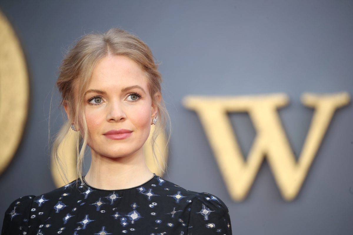 Kate Phillips attends the Downton Abbey movie premiere in London