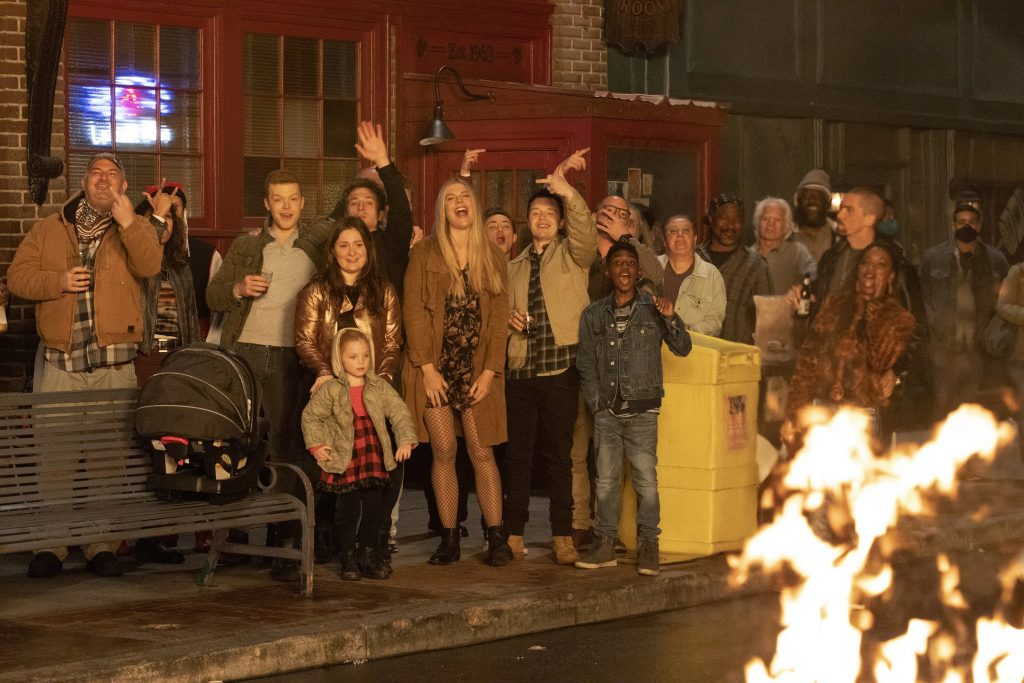 The last episode of Shameless Season 11 with the entire cast
