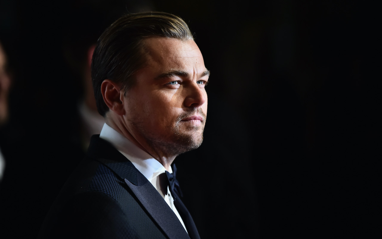 Leonardo DiCaprio attends the EE British Academy Film Awards at the Royal Opera House