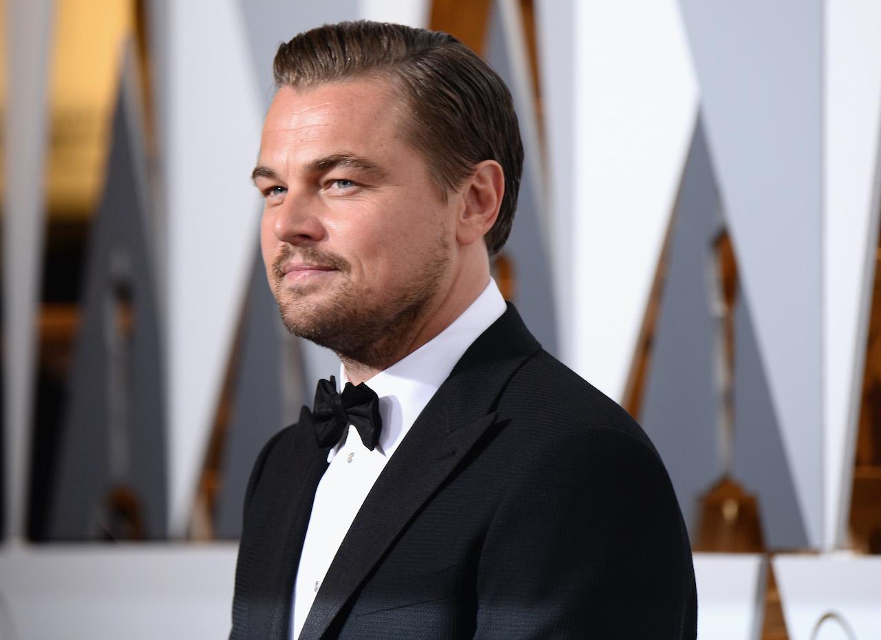 Leonardo DiCaprio attends the 88th Annual Academy Awards