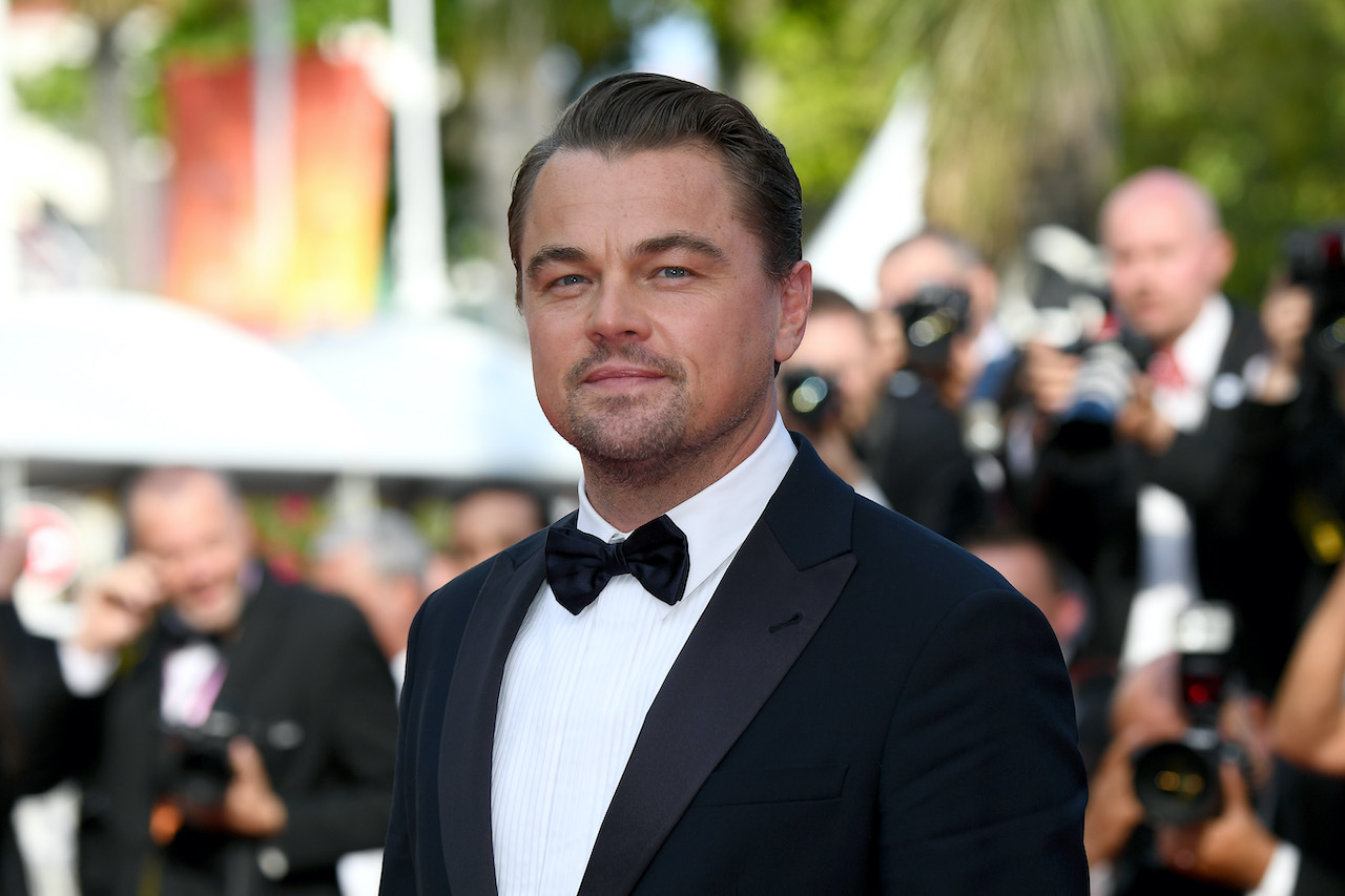 """Leonardo DiCaprio attends the screening of """"Once Upon A Time In Hollywood"""""""