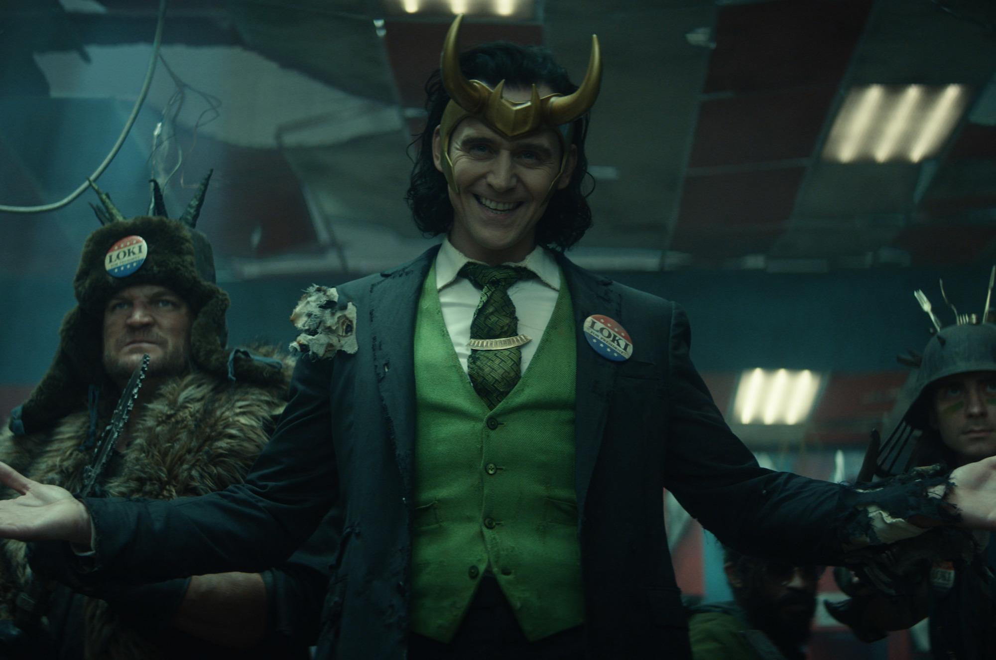 Tom Hiddleston as Loki in 'Loki' the Disney+ series