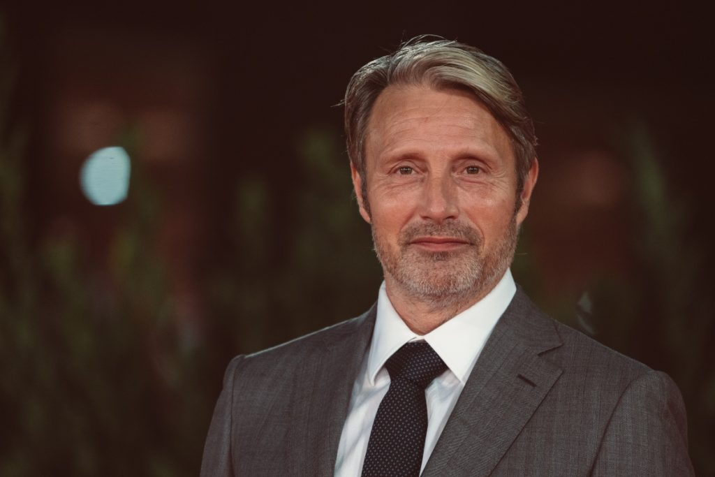 Mads Mikkelsen attends the red carpet of the movie 'Druk' during the 15th Rome Film Festival, 2020