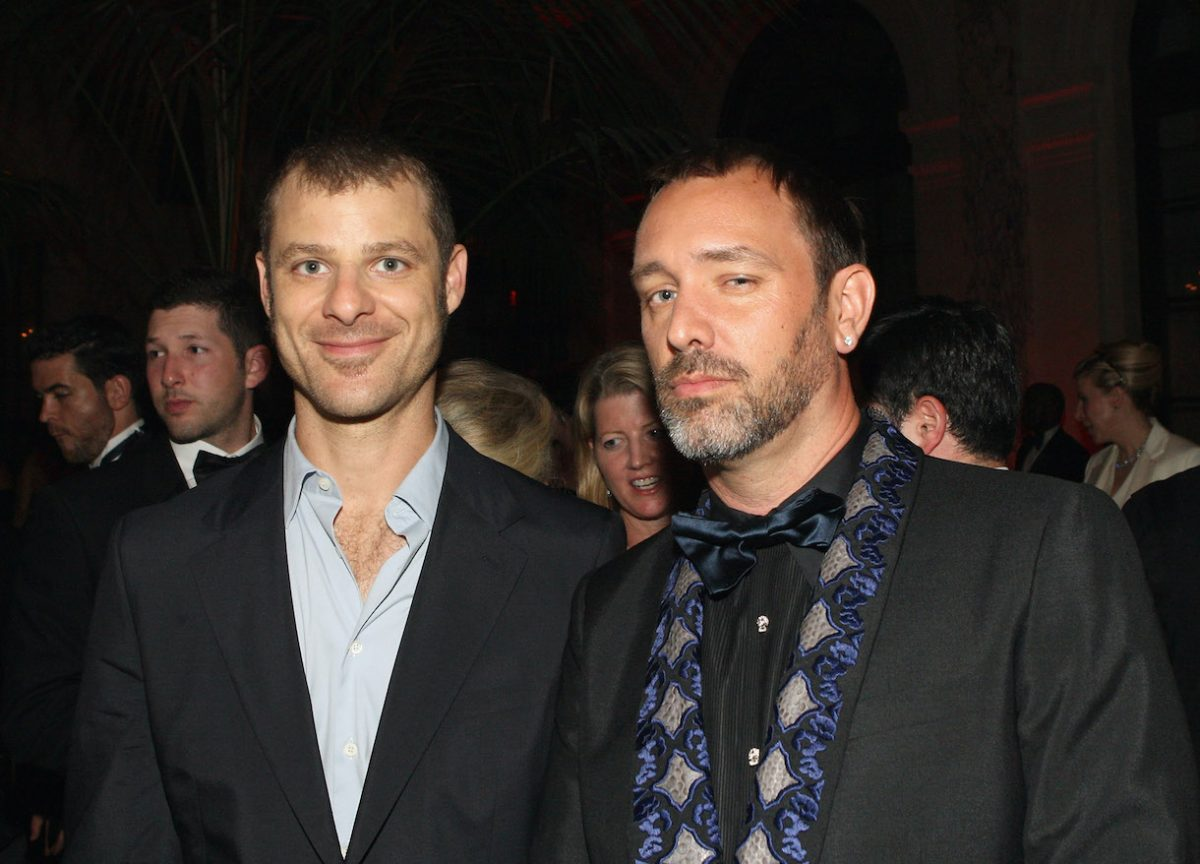 Matt Stone and Trey Parker attend 66th Annual Tony Awards after party at The Plaza Hotel on June 10, 2012 in New York City