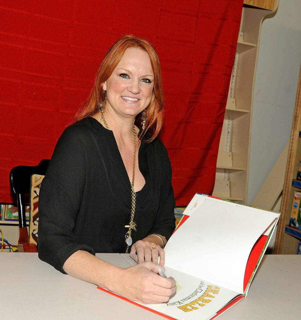 Ree Drummond attends a book signing in 2012