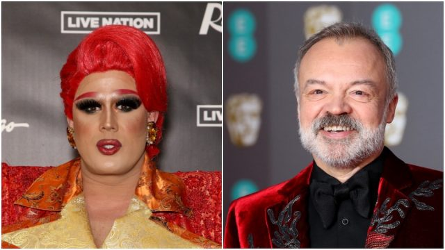 Graham Norton and 'RuPaul's Drag Race' Star Tina Burner Had a 'Disaster' Romance