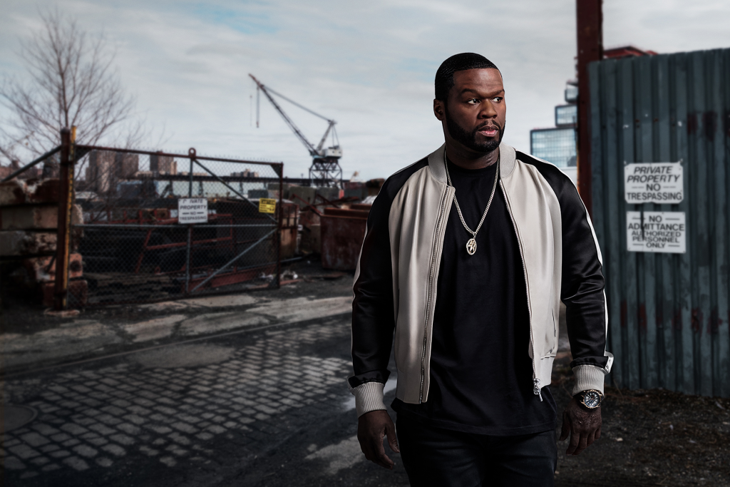50 Cent as Kanan Stark in 'Power'