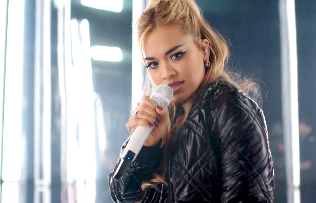Rita Ora performs during Walk Your Wonderful presented by SHEIN Together on September 19, 2020.