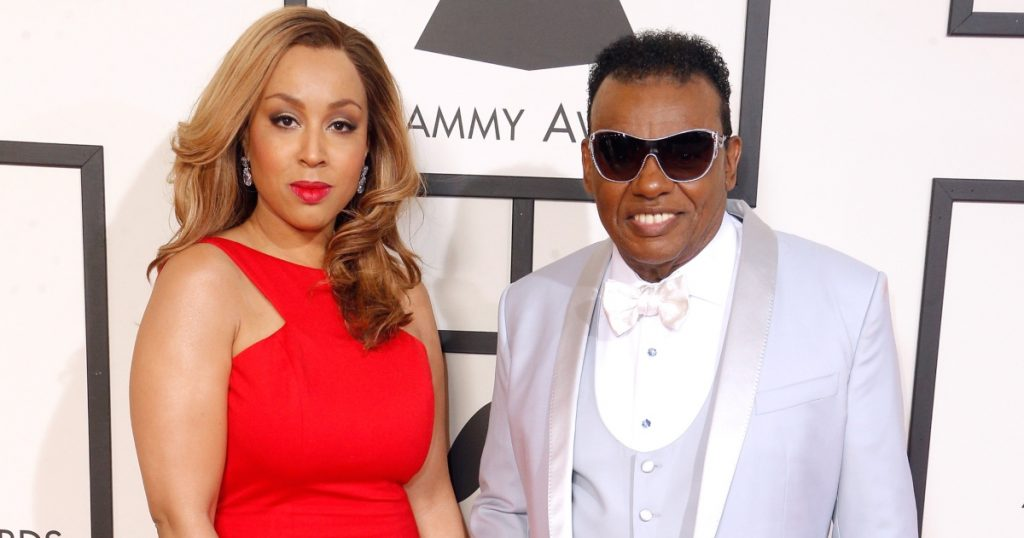 Ron Isley and wife Kandy Johnson Isley