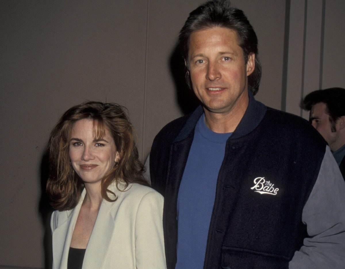 """Melissa Gilbert and Bruce Boxleitner at the """"Fallen Champ: The Untold Story of Mike Tyson"""" Los Angeles screening in 1992."""
