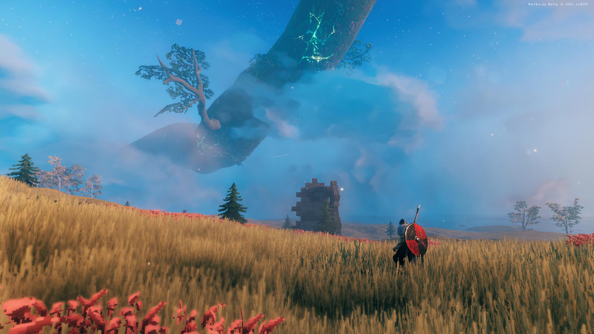 Explore new biomes to advance in Valheim