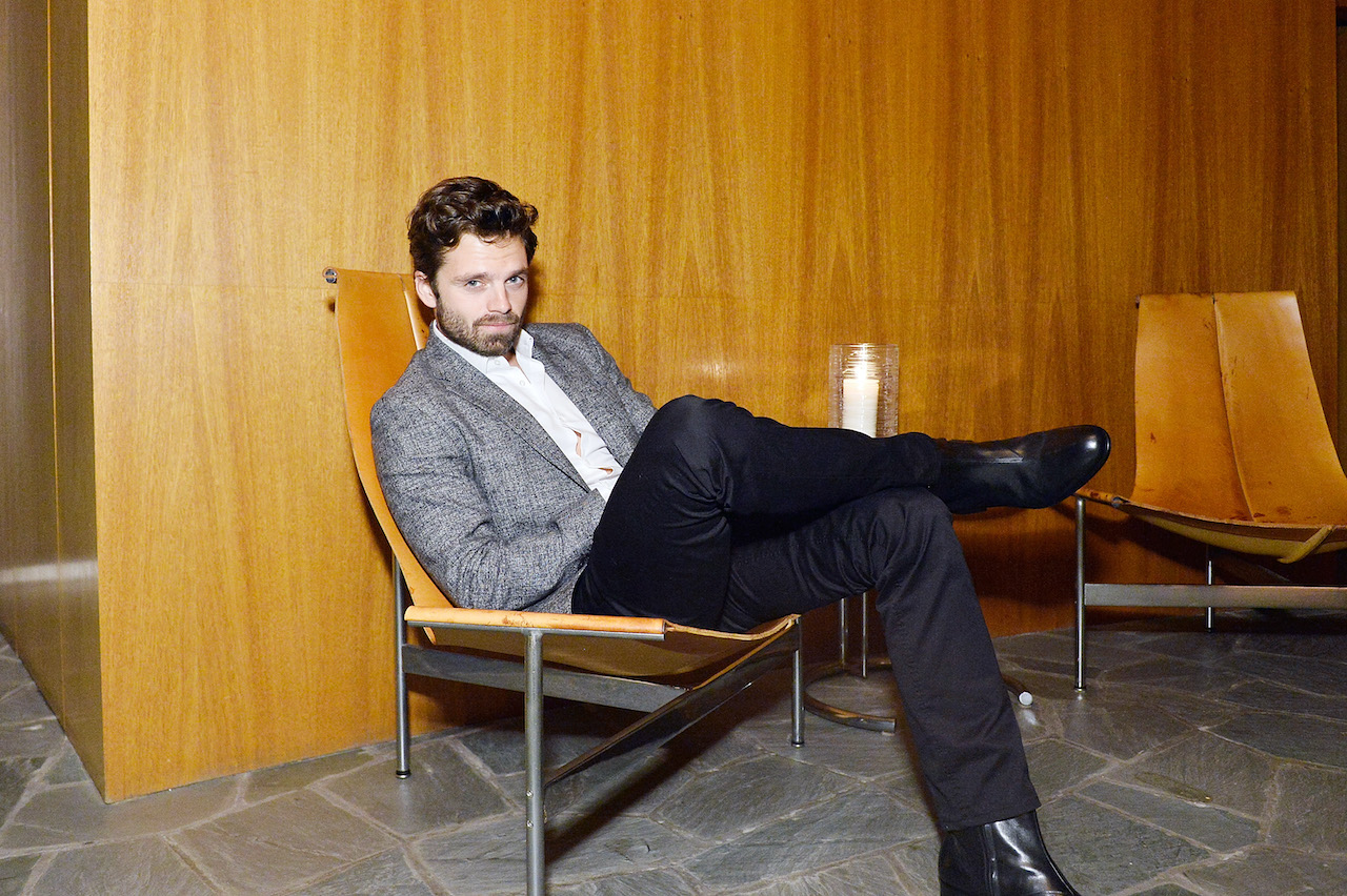 Sebastian Stan attends GQ Style & Hugo Boss celebrate Amazing Spaces